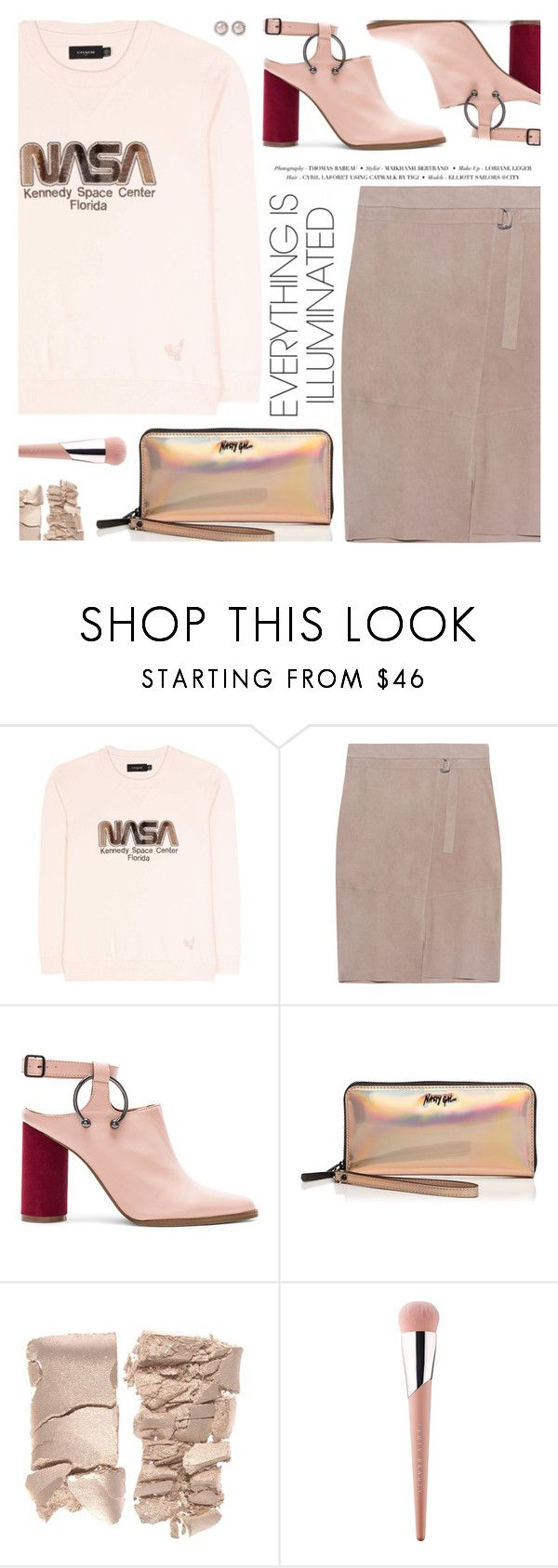 """""""Win It! #PolyPresents: Statement Shoes"""" by pokadoll ❤ liked on Polyvore featuring Coach, Steffen Schraut, Jaggar, Nasty Gal, Puma, Miu Miu, polyvoreeditorial, polyPresents and polyvoreset"""