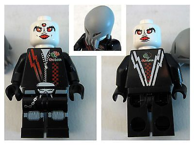 New Lego Space Police 3 Alien Skull Twin Minifig Double Face | eBay