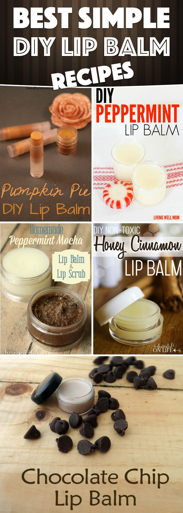 Make Your Own DIY Lip Balm With These 25 Quick and Easy Recipes
