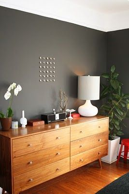 I NEED to do an accent wall in a color gray similar to this.