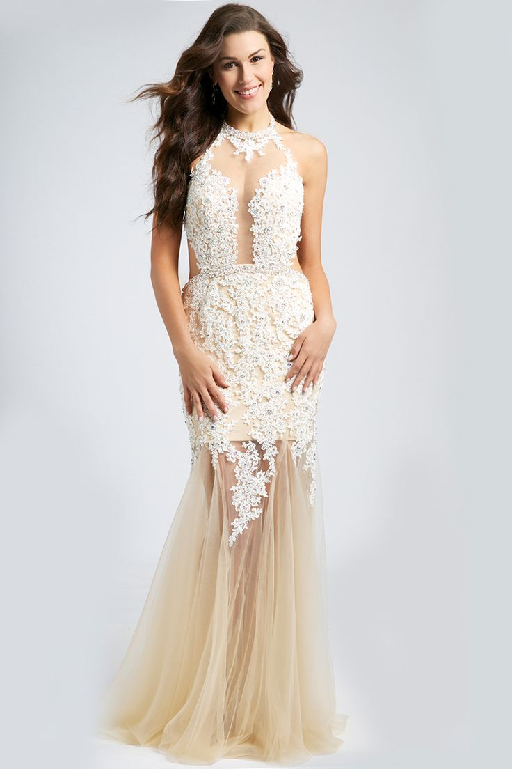 Cream colored prom dresses 2018 jovani