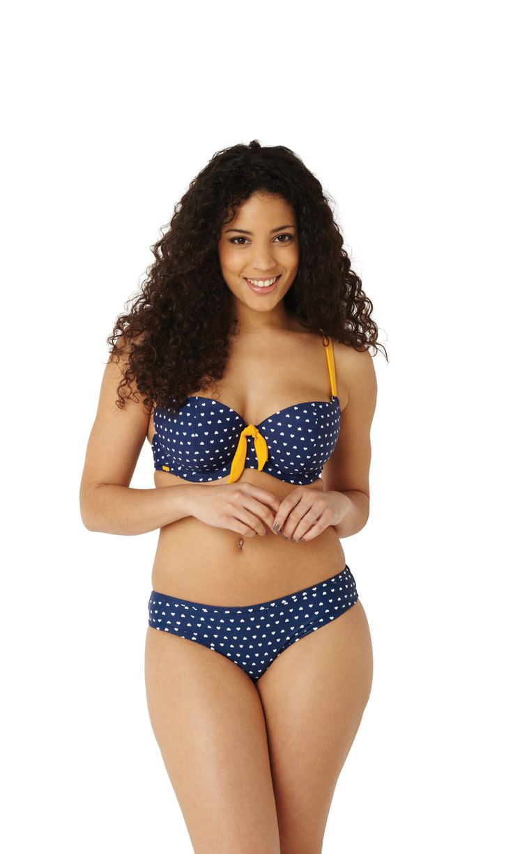 NEW Leena balconnet bikini top in heart print, up to H cup, #swimwear #beachwear…