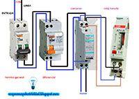 Esquemas eléctricos: Contactor monofásico y reloj horario