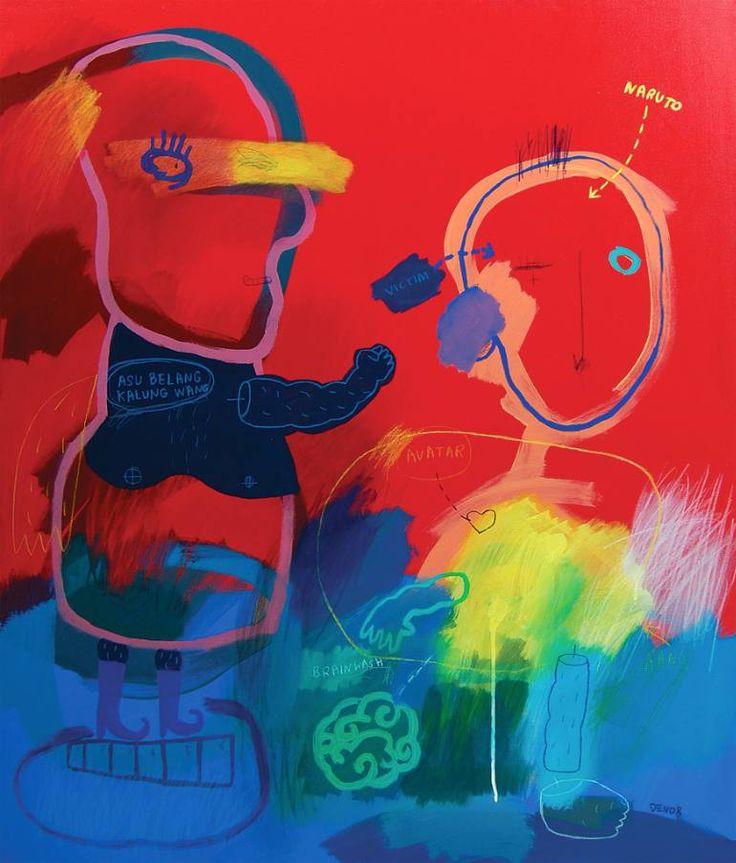 "Saatchi Art Artist deny pribadi; Painting, ""brainwash"" #art"