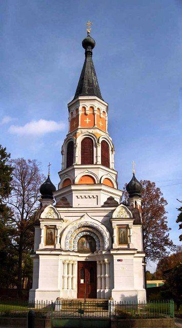 Františkovy Lázně - Pravoslavný kostel sv. Olgy