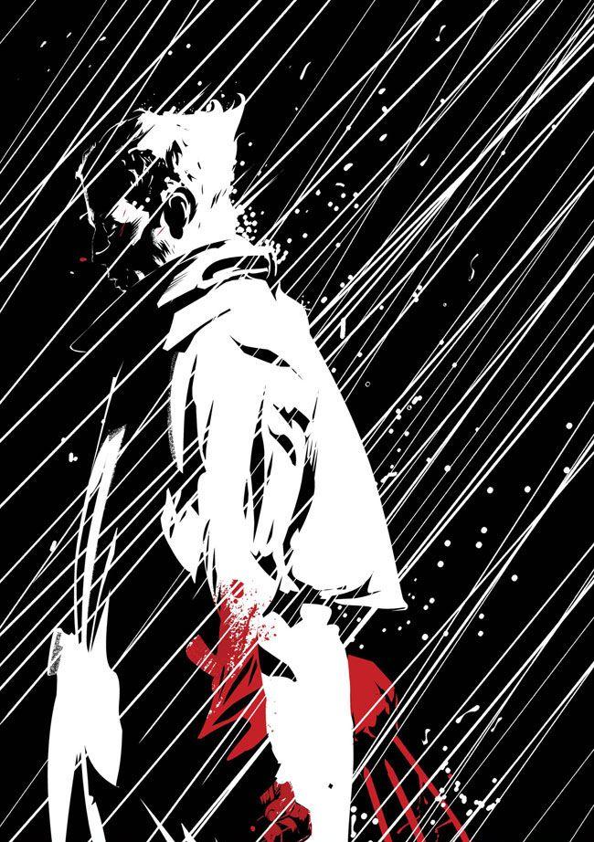 Wolverine Noir by Dennis Calero