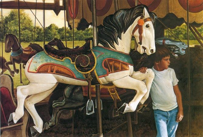 Guelph Carousel by Ken Danby