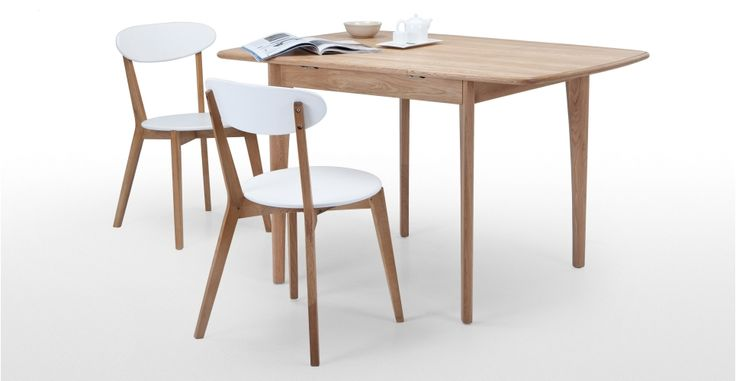Monty Extending Dining Table in oak | made.com