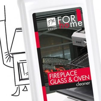 Oven, Fireplace Glass Cleaner