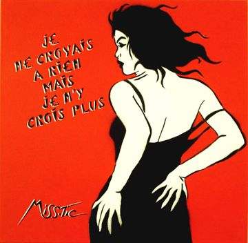 Miss.Tic             Depuis les années 80, Miss.Tic place ses œuvres d'art dans les rues de Paris. Elle est avec Blek le Rat la représenta...