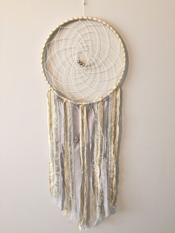 Bohemian Dreamcatcher Boho chic Neutral by BlairBaileyDesign