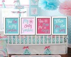 gray teal pink nursery - Google Search