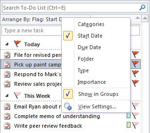 Best Practices (Tips) for Microsoft Outlook 2010