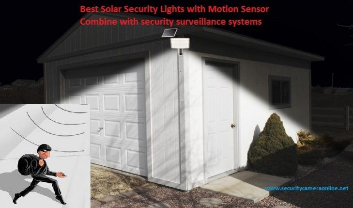 Best Solar Security Lights with Motion Sensor