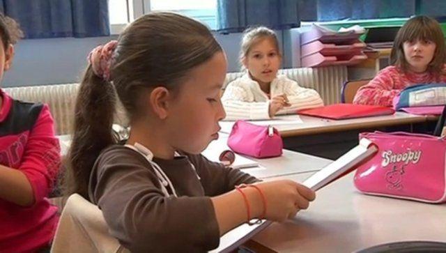 vidéo sur une école freinet
