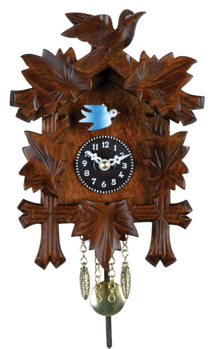 German Quartz Novelty Cuckoo Clock 2130Q-07