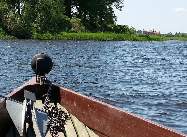 Tykocin. The Narew river.