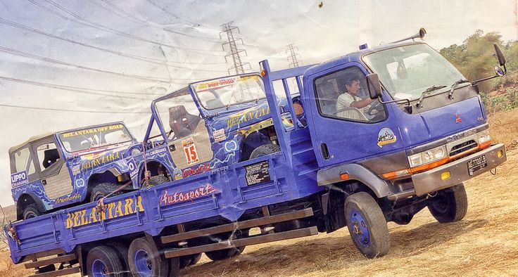 Modifikasi Truck Mitsubishi Colt Diesel Dan Canter 4WD | Foto Truck