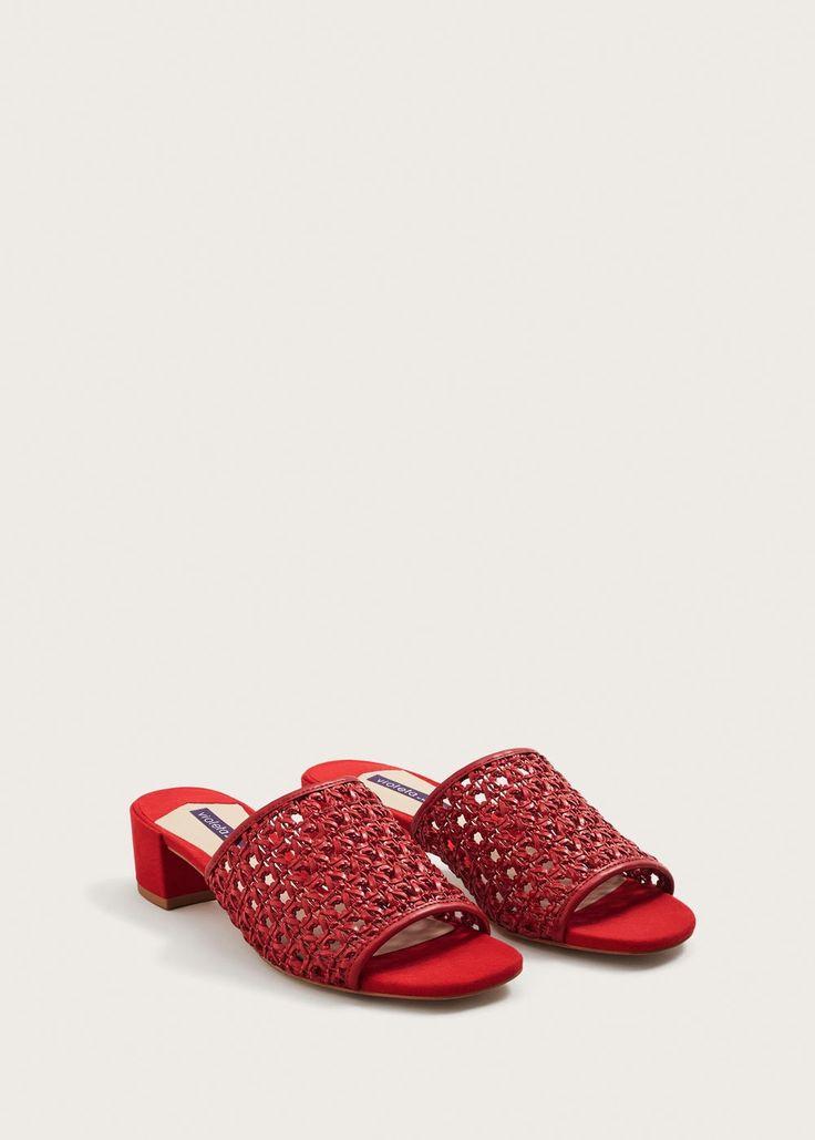 Braided sandal | VIOLETA BY MANGO