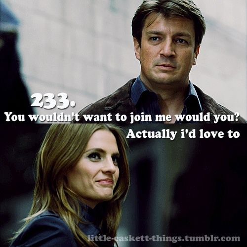 Castle TV Show | Their looks... :) | Castle (TV Show)