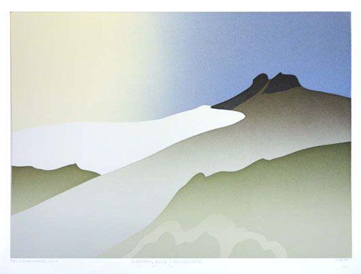 Deception Peak / Glacier Suite by Toni Onley