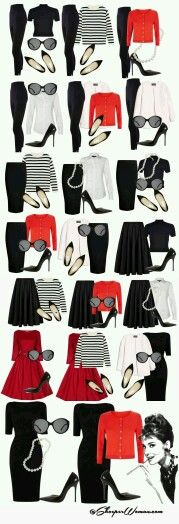 Amar.. Rojo, blanco y negro.... #Casual #Chic
