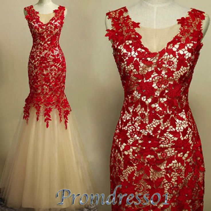 prom dress lace