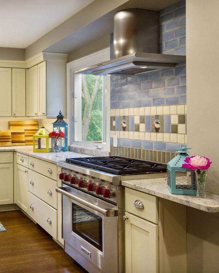 Kitchen Tile Work: Kitchen Backsplash, 4x4 And Arts & Crafts