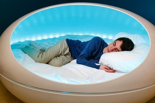 A modern bed that is closest to sleeping on a cloud. The Tranquility Pod is a personal sanctuary to escape and relax.
