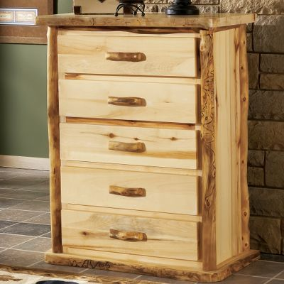 Cabela's Aspen Log 4-Drawer Chest