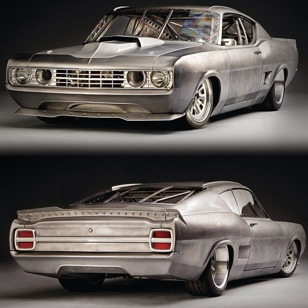George Poteet's 1969 Ford Torino, built by Rad Rides by Troy