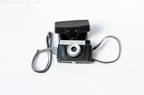 Smena 8M Lomo camera Vintage Soviet 35 mm photo camera with original leather case Russian retro collectible photographer gift for collector