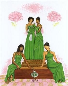 Sparkling Alpha Kappa Alpha jewelry shows how much you love your Alpha Kappa Alpha sisters.