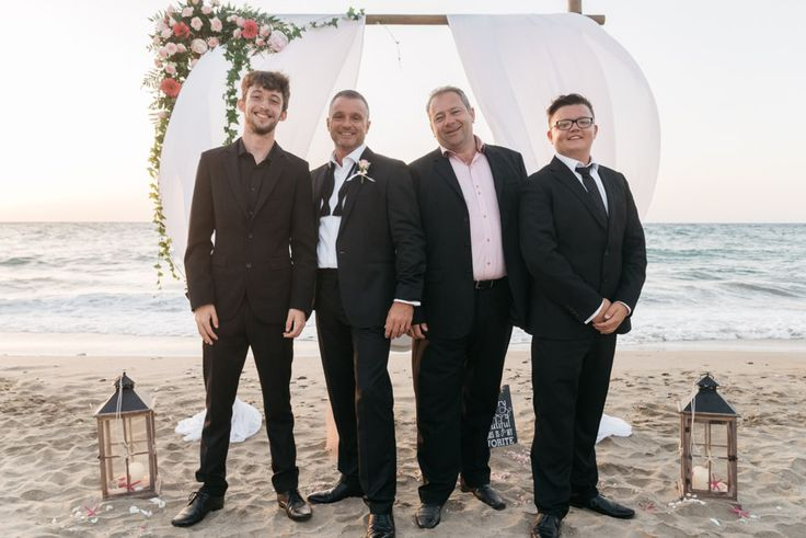 Wedding in Agia Pelagia, Crete. Picture by paulinaweddings.com