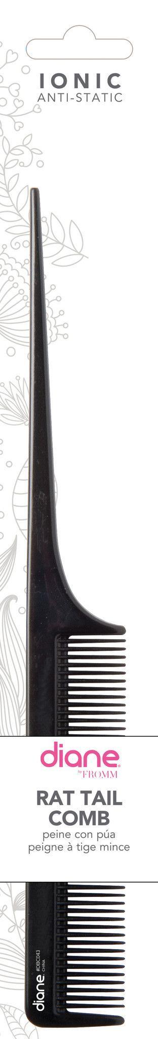 Diane Ionic Rat Tail Comb