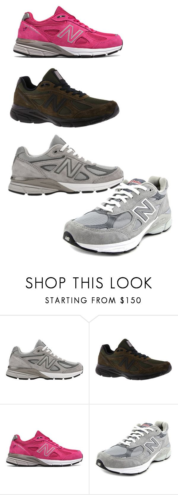 """990"" by awewa ❤ liked on Polyvore featuring New Balance, men's fashion and menswear"