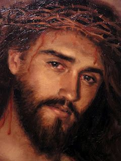 Jesus. This is not even close but the sorrow that are in his eyes should never allow us to forget or take his suffering for granted
