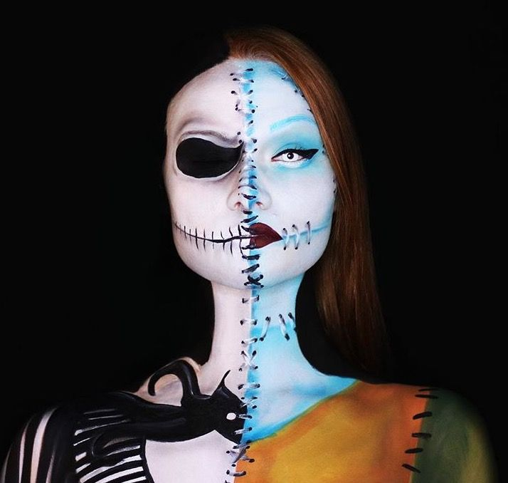 15 best Sally Nightmare Before Christmas Makeup images on ...