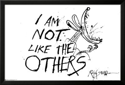 I Am Not Like The Others - Ralph Steadman Prints - AllPosters.co.uk