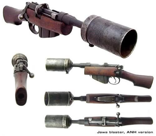Re: Non-steamed steampunk guns  « Reply #320 on: April 06, 2011, 11:10:20 pm »    There was an Aussie film recently about an underground battle between German and British/Aussie miners on the Western Front during WW1 (Beneath Hill 60) That had the Aussie miners taking sawn-off Enfields with them down the mines.  Great little Indy flick if you like your military history.