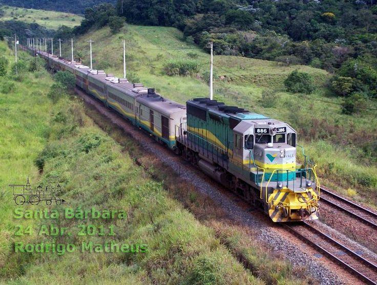 Horários do Trem de passageiros Vitória - Belo Horizonte | Estrada de Ferro Vitória a Minas - EFVM / Vale