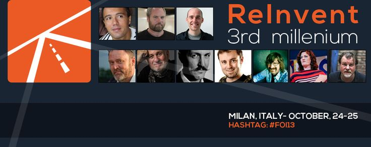 FRONTIERS OF INTERACTION - Milan (ITALY) - October, 24-25  #FOI13
