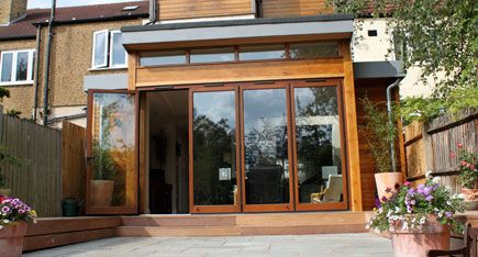 timber cladding extension - Google Search