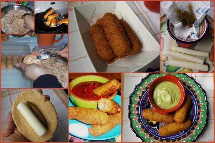 Chorizo and Cheese Masa Torpedos
