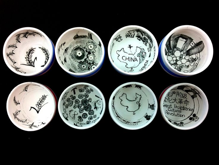 my hand thrown ceramic cups