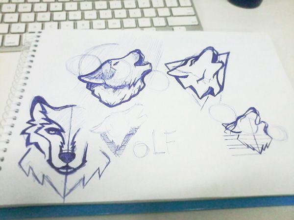 WOLF - Logo on Behance