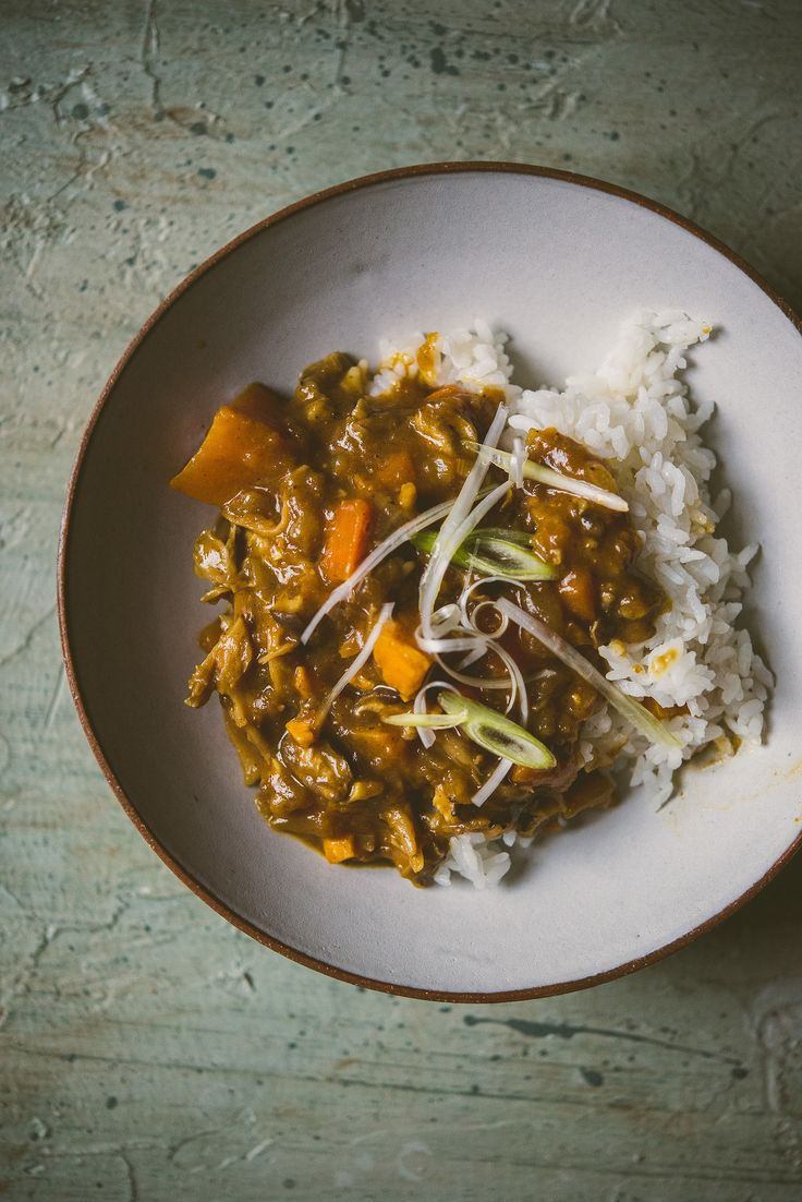 mushroom and sweet potato japanese-style curry