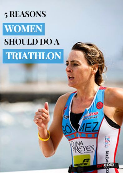 Triathlon offers a fun, sociable and pretty addicting way of staying in shape—so why do so many women continue to stay on the sidelines? Factors like expensive barriers to entry, a lack of time and fears about open water swimming are the most common complaints, but here are some pretty good reasons for ladies to get on a bike and give multisport a try. 5 Reasons Women Should Do a Triathlon…