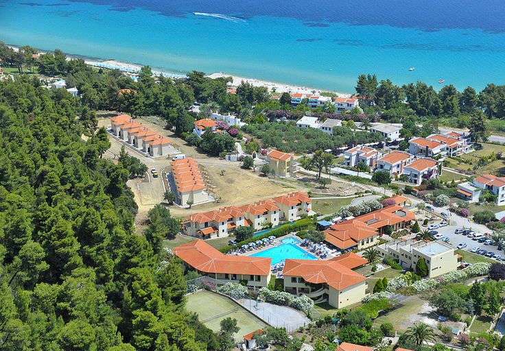 Aerial view from the west. Incredible beaches near the hotel!!!!