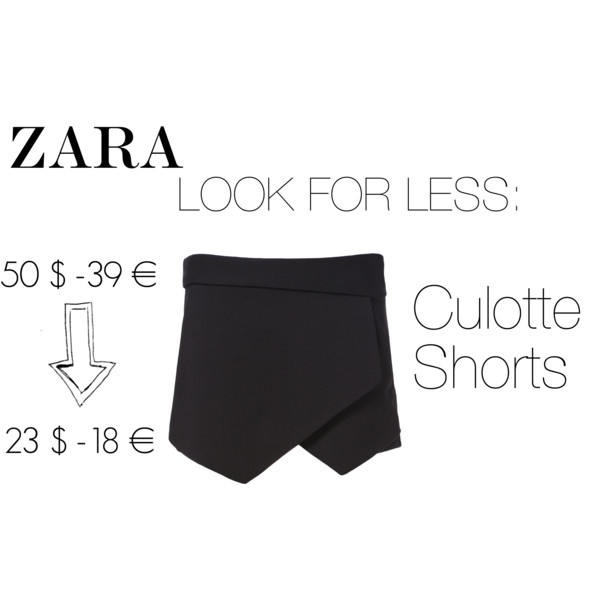 ZARA look for less: Culotte Shorts Title by serenaloserlikeme, via Polyvore #serenaloserlikeme #italianblogger  #polyvore #lookforless #thelookforless #zara #zaraloves #zaralookforless #aloserlikeme #fashionblog #fashionblogger #inspiration #culotteshorts #sheinside #choies #fashion #musthave #fashionmusthave #bloggerslove #bloggersfav